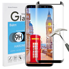 SAMSUNG GALAXY S8 Screen Protector Real Tempered Glass, Anti-Scratch & Bubble