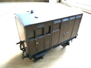 7mm O gauge KITBUILT Plain goods wagon  FINESCALE