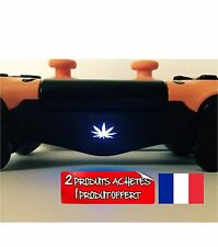 stickers cana weed lightbar manette ps4 2=3ième offert