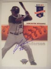 LARS ANDERSON signed RC RED SOX 2008 TriStar baseball card AUTO CUBS DODGERS #18