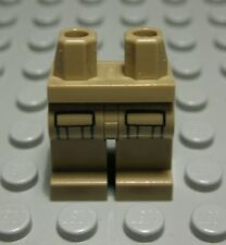 Lego Figur Zubehör Beine Hose Dunkelbeige mit Dekor                     (2257)