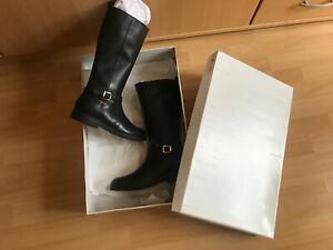 Geox Respira Stiefel Größe 37 Schwarz wie neu 1X getragen ansehen top Posten