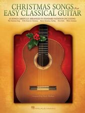 Christmas Songs for Easy Classical Guitar Sheet Music Guitar Solo Book 000128604