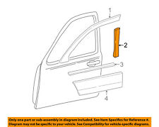 Lincoln FORD OEM 04-11 Town Car Front Door-Window Molding Right 4W1Z5420554AAA
