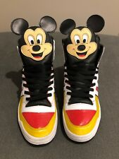 ADIDAS ORIGINALS, Jeremy Scott Mickey Mouse, Size 10, EXTREMELY RARE!!!!