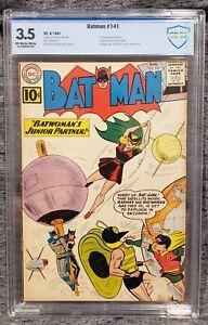 BATMAN DC #141 CBCS 3.5, 2ND APPEARANCE BAT-GIRL, 1ST APP CLOCKMASTER