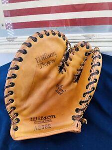 Vtg Near Mint Wilson A2682 Trapper Model Baseball Glove Made in USA 1940s 1950s
