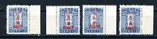 1948 Taiwan Postage Due surcharged mint never hinged Chan TPD6-9