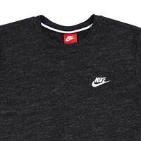 Nike sz S Men's  SWOOSH NSW LEGACY Tee T-Shirt NEW  822570-032 Charcoal Grey