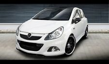 Carbon Spoilerlippe Frontspoiler Spoiler Diffusor Ansatz Opel Corsa D OPC CUP