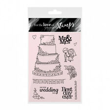 BEST DAY EVER - For The Love of Stamps Clear Stamp Set - Hunkydory