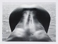 Lucien Clergue 1968 Original Ltd Ed. Photo Heliogravure 32x50 Née Vague Nude Nus