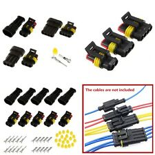Waterproof  2 3 4 Way Car Auto Motorcycle Sealed Electrical Wire Connector Plug
