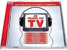 compilation, As Heard On TV, Music From Australia's Favourite TV Commercials, CD