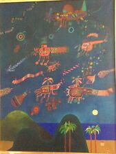 José Gamarra (1934 Uruguay) La Conquête de l'Espace huile/toile 448 bis