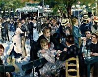Dance at Le Moulin - Renoir. Life Art Repro Made in U.S.A Giclee Prints