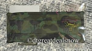 NEW Coach Camo Face Mask New Sealed with Rexy Wild Beast Camo Green/ Black