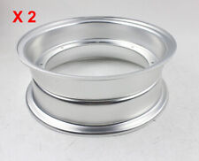 "1 Pair 3.50 x 10"" Aluminium Rims For Honda DAX Bikes CT70 Aftermarket Wheels"