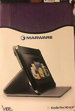 "New Marware Vibe Standing Case for Kindle Fire HD 8.9"" Purple"