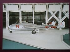 POSTCARD AIR DE HAVILLAND DH100 VAMPIRE F MK3 THIS IS VT812