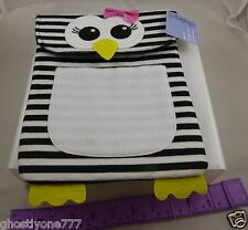 for Ipad  2 3 4 felt Penguin case zebra print black whiite tablet protection