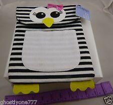 for Ipad  2 3 4 felt Penguin case zebra print black white tablet protection
