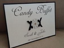 Fait main personnalisé Hiver Flocon candy buffet Sweetie SIGNE-plusieurs couleurs