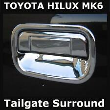 Chrome Tailgate handle surround forToyota Hilux Mk6 Vigo pickup truck cover new