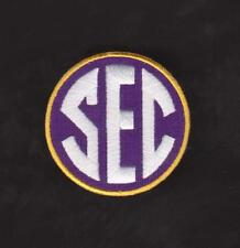 LSU TIGERS SEC COLLEGE NCAA JERSEY PATCH 100% EMBRODIRED NEW 2012