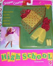 Mattel Barbie Skipper & Courtney High School Fashion Clothes Set #3629 1992 New