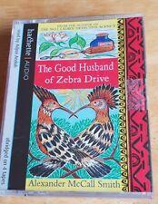 THE GOOD HUSBAND OF ZEBRA DRIVE AUDIO CASSETTE BOOK ALEXANDER McCALL SMITH RARE