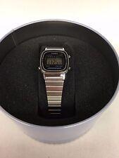 Casio LA670WD-1CR Watch - Silver/Black NEW in box