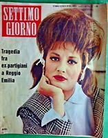 MINA-SETTIMO GIORNO SETTIMANALE DI VARIETA' & POLITICA -N.13 del 1961-RIF.7859
