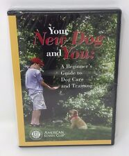2003 New Sealed American Kennel Club Beginner Guide for Dog Care Training DVD
