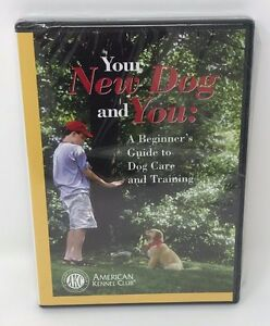 Your New Dog and You: Dog Care and Training DVD American Kennel Club AKC 2003