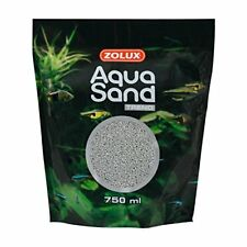 Zolux AquaSand Trend Sable D'aquarium pour Aquariophilie Silex Gris 750 ml