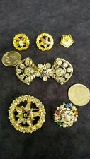 6 Vintage Order Of The Eastern Star Pins/Brooches