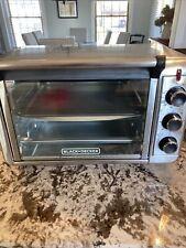 Black & Decker  4-Slice Toaster Oven. Broil toast