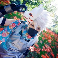 Naruto Hatake Kakashi cosplay costume wig uk