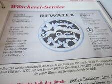 Das war die DDR Alltag Familie Wäscherei Service REWATEX