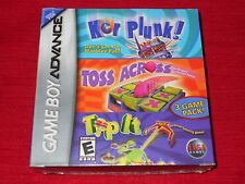 KERPLUNK, TOSS ACROSS, TIP IT  GBA FACTORY SEALED!!! C@@L!! FAST FREE SHIPPING!!
