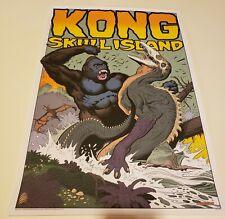 KONG: SKULL ISLAND WILLIAM STOUT Print MINT BOTTLENECK