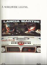 Lancia Delta HF Integrale Martini A Worldwide Legend 1987-1992 Brochure Mint