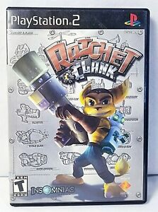 SONY PlayStation 2 PS2 Ratchet & Clank CIB BLACK LABEL VERSION & COMPLETE TESTED
