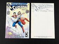 Lot of 2 Superman the Wedding Album #1:Sketch Variant & DC Universe Variant 1996
