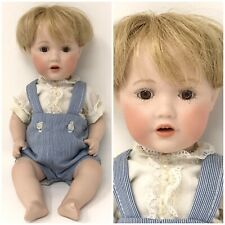 10� All Bisque Artist Reproduction Doll –Jdk Baby Boy – Blonde Hair/Brown Eyes