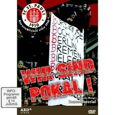 DVD WIR SIND POKAL - FC ST.PAULI ON THE ROAD - FUSSBALL - Werder Bremen * NEU *