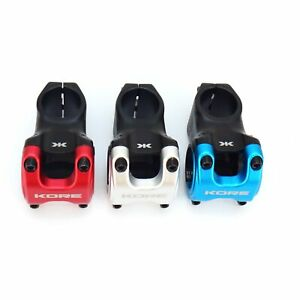 "Kore Cubix 1-1/8"" 31.8x50mm MTB DH Bike Stem Clamp Cap Color-Silver/Red/Blue"