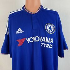 Adidas Chelsea FC Clima Cool Soccer Jersey 2015 2016 Football Kit Home Size 2XL