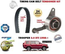 FOR ISUZU TROOPER MU 3.0 DTi  4JX1 1998-2006 NEW TIMING CAM BELT TENSIONER KIT